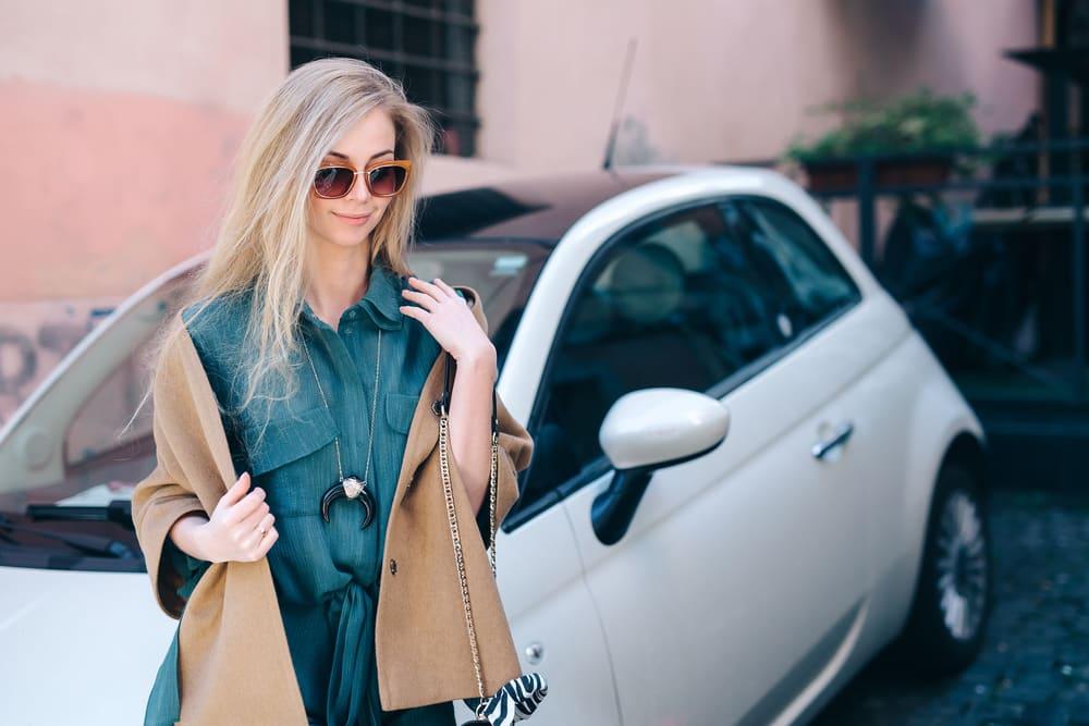Как у меня блондинка фары покупала!
